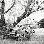 Karen Howard-Mission Cart..Mission San Antonio de Padua Portfolio.Photographed April 2011 and published September 2011...