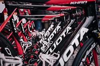 Team Cofidis bikes at the ready<br /> <br /> 109th Milano-Sanremo 2018<br /> Milano > Sanremo (291km)