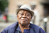 Teddy Osei <br /> at the Crouch End Festival screening of the documentary film about Mac Tontoh - One Last Song. <br /> 11th June 2017 <br /> <br /> <br /> Teddy Osei (born December 1937) is a musician and saxophone player from Ghana. Osei is best known as the leader of the Afro-pop band Osibisa, founded in 1969. Born in Kumasi.<br /> <br /> <br /> <br /> Photograph by Elliott Franks <br /> Image licensed to Elliott Franks Photography Services