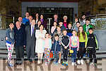 Dick and Eileen Henggeler with their Kerry relatives outside the Fels Point Hotel Tralee on Thursday
