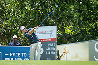Nicolas Colsaerts (BEL) during the 2nd round of the AfrAsia Bank Mauritius Open, Four Seasons Golf Club Mauritius at Anahita, Beau Champ, Mauritius. 30/11/2018<br /> Picture: Golffile | Mark Sampson<br /> <br /> <br /> All photo usage must carry mandatory copyright credit (&copy; Golffile | Mark Sampson)