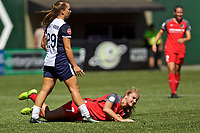 Portland, OR - Saturday September 02, 2017: Lindsey Horan, Meggie Dougherty Howard during a regular season National Women's Soccer League (NWSL) match between the Portland Thorns FC and the Washington Spirit at Providence Park.