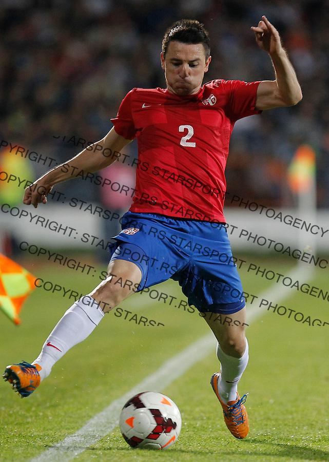 Fudbal Soccer<br /> World Cup 2014 qualifiers match<br /> Serbia v Macedonia<br /> Antonio Rukavina<br /> Jagodina, 15.10.2013.<br /> foto: Srdjan Stevanovic/Starsportphoto &copy;