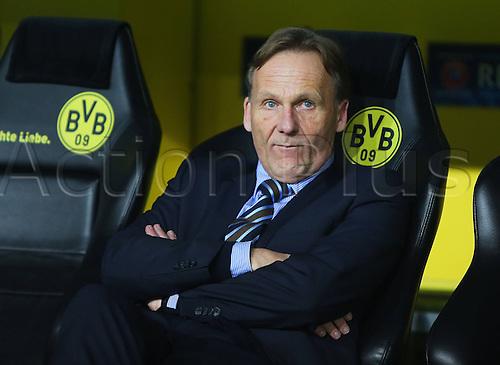 05.03.2013. Dortmund, Germany. UEFA Champions League Borussia Dortmund v Shakhtar Donetsk. President Hans Joachim Watzke Borussia Dortmund