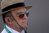 Apr 19, 2007; Avondale, AZ, USA; Nascar Nextel Cup Series team owner Jack Roush during qualifying for the Subway Fresh Fit 500 at Phoenix International Raceway. Mandatory Credit: Mark J. Rebilas