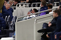 Dele Alli of Tottenham Hotspur looks frustrated at being substituted during Tottenham Hotspur vs RB Leipzig, UEFA Champions League Football at Tottenham Hotspur Stadium on 19th February 2020