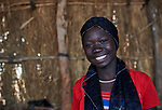 A girl in the Kaya Refugee Camp in Maban County, South Sudan. Maban is host to four refugee camps that together shelter more than 130,000 refugees from the Blue Nile region of Sudan. Jesuit Refugee Service, with support from Misean Cara, provides educational and psycho-social services to both refugees in the camps and families in the host community.