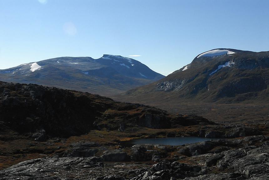 Trollhetta, Rinnhatten,Trollheimen,Norway Landscape, landskap,