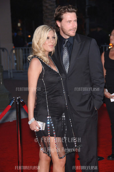 TORI SPELLING & husband DEAN McDERMOTT at the 2006 American Music Awards at the Shrine Auditorium, Los Angeles..November 21, 2006  Los Angeles, CA.Picture: Paul Smith / Featureflash