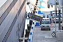 FORT LAUDERDALE, FL - April 02: The Zaandam cruise ship docks as Health care workers wait unload COVID-19 bobie at Port Everglade in Florida on April 02, 2020 in Fort Lauderdale, Florida. The Holland America cruise line ship had been at sea for the past 19 days after South American ports denied their entry due to the Coronavirus outbreak. Reports indicated that two of four people that died aboard the Zaandam had tested positive for COVID-19. Those passengers that are fit for travel in accordance with guidelines from the U.S. Centers for Disease Control will be permitted to disembark.   ( Photo by Johnny Louis / jlnphotography.com )