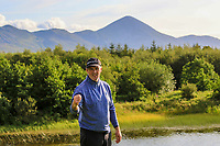 Eddie McCormack (Galway) wins on the 18th during the Final of the AIG Senior Cup in the AIG Cups & Shields Connacht Finals 2019 in Westport Golf Club, Westport, Co. Mayo on Sunday 11th August 2019.<br /> <br /> Picture:  Thos Caffrey / www.golffile.ie<br /> <br /> All photos usage must carry mandatory copyright credit (© Golffile | Thos Caffrey)