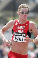 11 JUN 2006 - WINDSOR, UK - Will Clarke - .British Triathlon Elite Championships 2006. (PHOTO (C) NIGEL FARROW)