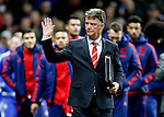 Louis van Gaal manager of Manchester United - English Premier League - Manchester Utd vs Chelsea - Old Trafford Stadium - Manchester - England - 28th December 2015 - Picture Simon Bellis/Sportimage
