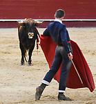 """Feria de Julio de Valencia.<br /> I Certamen de Escuelas Taurinas.<br /> Clases Practicas.<br /> <br /> Novillos de La Palmosilla.<br /> <br /> """"El Rafi"""" - E.T. Nimes.<br /> Francisco de Manuel - E.T. Colmenar Viejo.<br /> Miguel Senent """"Miguelito"""" - E.T. Valencia.<br /> Juan Diego - E.T. Almeria.<br /> Borja Collado - E.T. Valencia.<br /> Joao D'Alva - E.T. Vilafranca de Xira.<br /> <br /> 15 de julio de 2017.<br /> <br /> Coso de la Calle Xativa.<br /> Valencia, Valencia - España."""