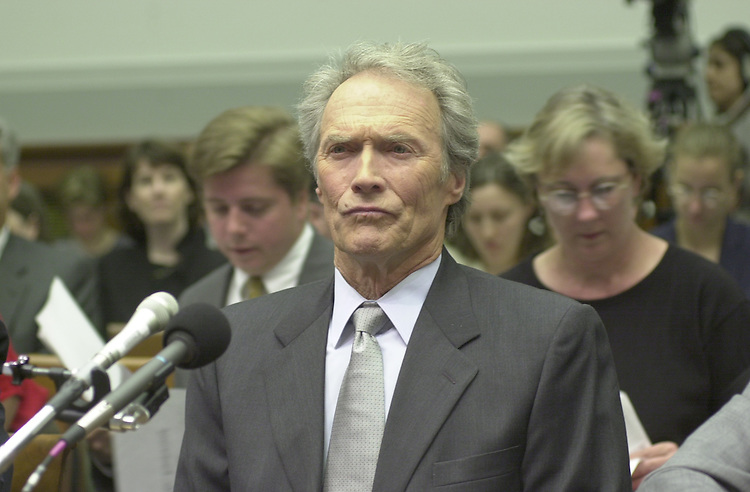 Eastwood C. 9(DG) 051800 -- Clint Eastwood testifies before the House Judiciary Committee on Americans with Disabilities Act.