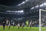 Juventus players celebrate after the final whistle during the UEFA Champions League match at Juventus Stadium, Turin. Picture date: 26th November 2019. Picture credit should read: Jonathan Moscrop/Sportimage