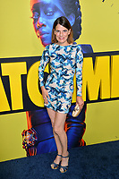 "LOS ANGELES, USA. October 15, 2019: Suzanne Cryer at the premiere of HBO's ""Watchmen"" at the Cinerama Dome, Hollywood.<br /> Picture: Paul Smith/Featureflash"