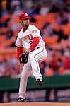 13 May 2005: Esteban Loaiza, pitcher for the Washington Nationals, on the mound against the Chicago Cubs, as the visiting Cubs defeated the Nationals 6-3 to take the first game of the 3-game series at RFK Stadium in Washington, DC.  Mandatory Photo Credit: Ed Wolfstein
