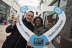 Stop Smoking Wales<br /> Friars Walk Newport<br /> 13.02.16<br /> &copy;Steve Pope - Fotowales