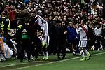 Rayo Vallecano's Adrian Embarba celebrates goal during La Liga match between Rayo Vallecano and FC Barcelona at Vallecas Stadium in Madrid, Spain. November 03, 2018. (ALTERPHOTOS/A. Perez Meca)