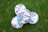 Match balls ahead of Crawley Town vs Oldham Athletic, Sky Bet EFL League 2 Football at Broadfield Stadium on 7th March 2020