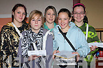 ...SELLERS: Tickets sellers for hampers at the Ballymacelligott Bazaar in the Ballymac Commun ity Centre on Sunday l-r: Hazel Prendiville, Niamh Canavan, Rebecca Savage, Anna and Cornelia Prendiville...................   Copyright Kerry's Eye 2008