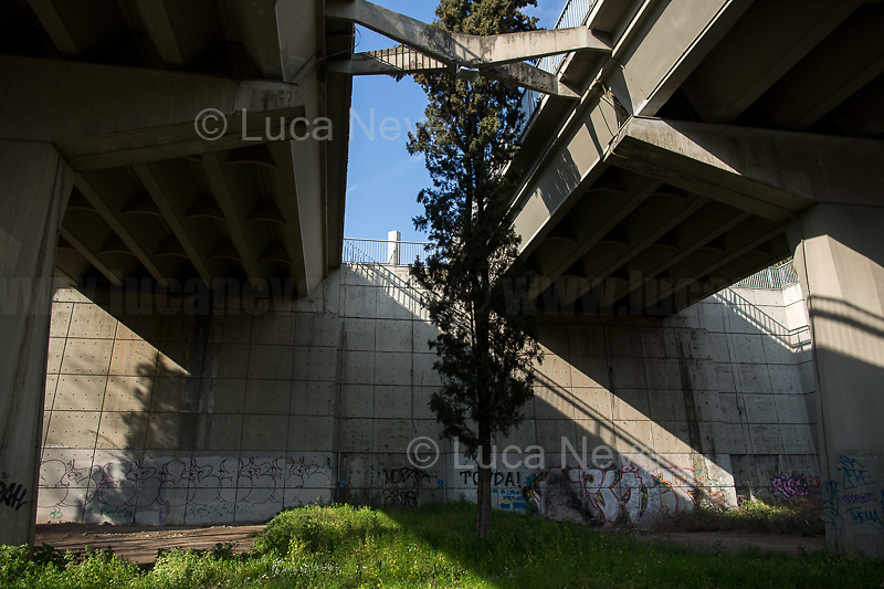 Corso Francia viaduct (by Pier Luigi Nervi).<br />