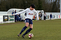Ashleigh Neville of Tottenham Ladies during Tottenham Hotspur Ladies vs Oxford United Women, FA Women's Super League FA WSL2 Football at Theobalds Lane on 11th February 2018