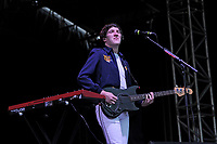 LONDON, ENGLAND - JULY 12: Jo&atilde;o Mello of 'Razorlight' performing at Kew The Music, Kew Gardens on July 12, 2017 in London, England.<br /> CAP/MAR<br /> &copy;MAR/Capital Pictures /MediaPunch ***NORTH AND SOUTH AMERICAS ONLY***