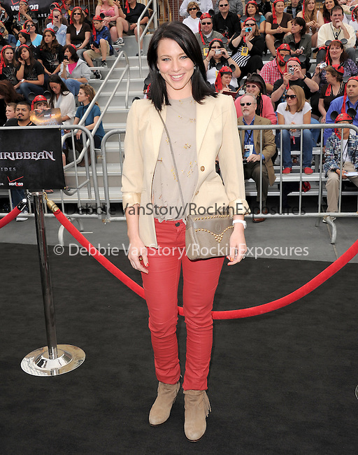 Lynn Collins at Walt Disney Pictures Premiere of Pirates of the Caribbean : On Stranger Tides held at Disneyland in Anaheim, California on May 07,2011                                                                               © 2010 Hollywood Press Agency