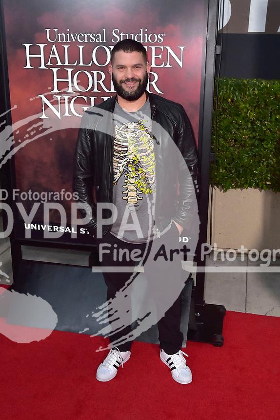 Guillermo Diaz bei der Eröffnung der 'Halloween Horror Nights' in den Universal Studios. Universal City, 15.09.2017