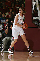 STANFORD, CA - JANUARY 2:  Mikaela Ruef of the Stanford Cardinal during Stanford's 79-58 win over the California Golden Bears on January 2, 2010 at Maples Pavilion in Stanford, California.