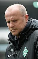 FUSSBALL   1. BUNDESLIGA   SAISON 2012/2013    28. SPIELTAG SV Werder Bremen - FC Schalke 04                          06.04.2013 Trainer Thomas Schaaf (SV Werder Bremen)