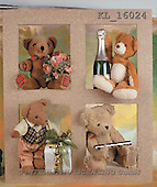 Interlitho, Alberto, CUTE ANIMALS, teddies, photos, teddies, gift, champagne(KL16024,#AC#)