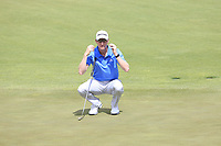 Jordan Niebrugge (USA) on the 5th green during Saturday's Round 3 of the 117th U.S. Open Championship 2017 held at Erin Hills, Erin, Wisconsin, USA. 17th June 2017.<br /> Picture: Eoin Clarke | Golffile<br /> <br /> <br /> All photos usage must carry mandatory copyright credit (&copy; Golffile | Eoin Clarke)