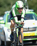 SITTARD, NETHERLANDS - AUGUST 16: Bram Tankink of the Netherlands riding for the Belkin Procycling team competes during stage 5 of the Eneco Tour 2013, a 13km individual time trial from Sittard to Geleen, on August 16, 2013 in Sittard, Netherlands. (Photo by Dirk Markgraf/www.265-images.com)