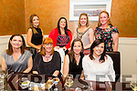 Ladies from Ardfert enjoying a girls night out in Darcys on Saturday night. Front l-r  Fidelma Dillon, Cecelia O'Callaghan, Geraldine Linnen and Margaret Cahill. Back l-r Siobhan Dwyer, Ann Marie Russell, Jessie Wallace and Antoinette Wiseman