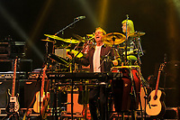 LONDON, ENGLAND - APRIL 13: Mick Wilson of '10cc' performing at The London Palladium on April 13, 2017 in London, England.<br /> CAP/MAR<br /> &copy;MAR/Capital Pictures
