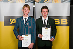 Boys Mountain Biking finalists Adrian Retief & Sam Baker. ASB College Sport Young Sportperson of the Year Awards 2008 held at Eden Park, Auckland, on Thursday November 13th, 2008.