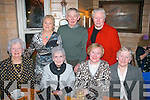 ANNUAL NIGHT: Organisers of the Kingdom County Fair had their annual night out in Stokers Lodge, Tralee, last Saturday (seated) l-r: Celine Slattery, Margaret Dwyer, Etta Dukes and Bridie O'Connell. Back l-r: Mary Barry, Robert Groves and Mary Collins.