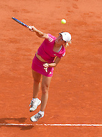 25-05-10, Tennis, France, Paris, Roland Garros, First round match, Justine Henin