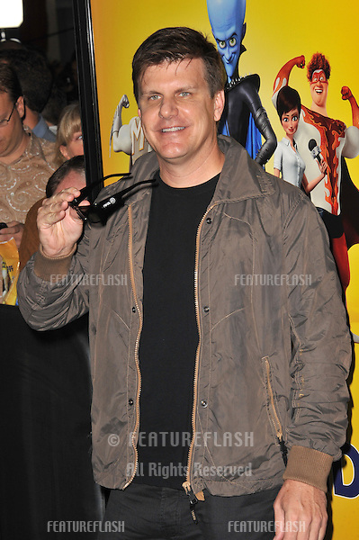 "Michael Lewis, of RealD, at the Los Angeles premiere of ""MegaMind"" at Mann's Chinese Theatre, Hollywood..October 30, 2010  Los Angeles, CA.Picture: Paul Smith / Featureflash"