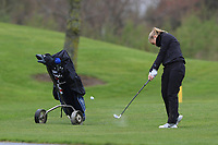 Minonna Falkman Lehes (SWE) on the 1st fairway during Round 1 of the Irish Girls U18 Open Stroke Play Championship at Roganstown Golf &amp; Country Club, Dublin, Ireland. 05/04/19 <br /> Picture:  Thos Caffrey / www.golffile.ie