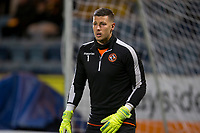 8th November 2019; Dens Park, Dundee, Scotland; Scottish Championship Football, Dundee Football Club versus Dundee United; Benjamin Siegrist of Dundee United during the warm up before the match  - Editorial Use