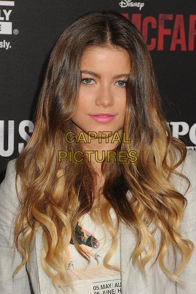9 February 2015 - Hollywood, California - Sofia Reyes. &quot;McFarland, USA&quot; Los Angeles Premiere held at The El Capitan Theatre. <br /> CAP/ADM/BP<br /> &copy;BP/ADM/Capital Pictures