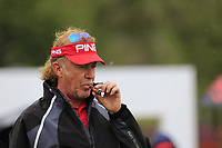 Miguel Angel Jimenez (ESP) on the practice green during Saturday's Round 3 of the 2017 Omega European Masters held at Golf Club Crans-Sur-Sierre, Crans Montana, Switzerland. 9th September 2017.<br /> Picture: Eoin Clarke | Golffile<br /> <br /> <br /> All photos usage must carry mandatory copyright credit (&copy; Golffile | Eoin Clarke)