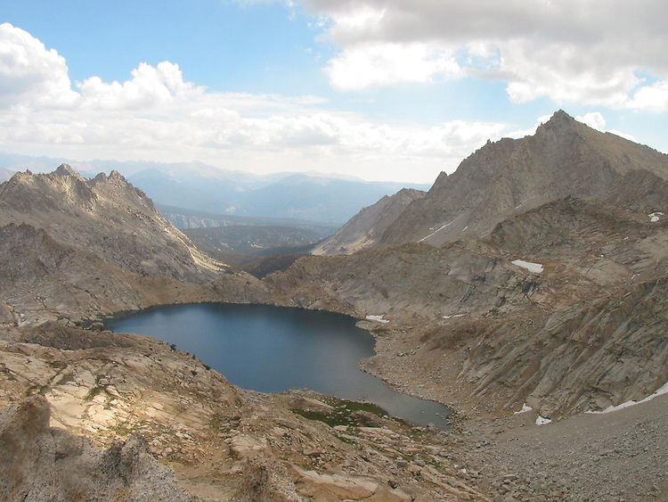 Back packing trip to the high Sierras near Sequoia national park.