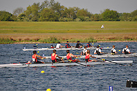Wallingford Rowing Club Regatta 2011. Dorney..(J15A.4+).Great Marlow School (315).Hampton School - B (316).King's College School - A (318)