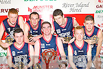 The Ex Pro's team, Castleisland that won the Senior Men Final at the 2008 St Mary's Christmas blitz in Castleisland Community Centre on Tuesday front row l-r: Stephen Bartlett, Neil O'Sullivan, Tomas Hickey. Back row: Martin O'Connor, Pa White, David O'Leary, Niall Barrett