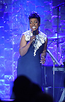 NEW YORK - JANUARY 27: Gladys Knight performs at the 2018 Clive Davis Pre-Grammy Gala at the Sheraton New York Times Square on January 27, 2018 in New York, New York. (Photo by Frank Micelotta/PictureGroup)